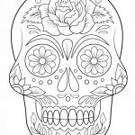 Sugar Skull Coloring Pages Pretty Luxury Skulls and Bones Coloring Pages – Fym
