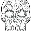 Sugar Skull Coloring Pages Printable Free Unique Luxury Day Dead Skull Coloring Pages – Kursknews