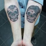 Sugar Skull Couple Tattoo Pretty Image Result for Sugar Skull Couple Tattoo Tattoos