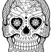 Sugar Skull Girl Coloring Pages Inspired Coloring Ideas 60 Fantastic Sugar Skull Coloring Pages for Kids