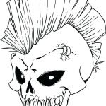 Sugar Skull Pictures to Color Awesome Punk Coloring Pages – Sharpball