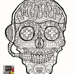 Sugar Skull Pictures to Color Beautiful 25 Free Printable Skull Coloring Pages Collection Coloring Sheets