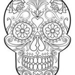 Sugar Skull Pictures to Color Best 79 Best Skull Coloring Pages Images In 2019