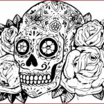 Sugar Skull Pictures to Color Creative Sugar Skull Coloring Pages Cool Coloring Page Unique Witch