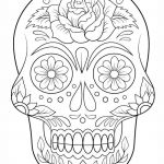 Sugar Skull Pictures to Color Inspiring Skeleton Coloring Pages Beautiful Skeleton Heads Coloring Pages 28