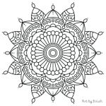 Sugar Skull Pictures to Color Marvelous Printable Mandala Coloring Pages Easy Free Mandalas to Color for