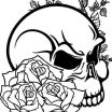 Sugar Skull Pictures to Color Pretty 20 Coloring Pages Skull Flower Vine Ideas and Designs