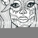 Sugar Skull Pictures to Color Pretty Beautiful Skull Candy Coloring Pages Nocn