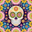 Sugar Skull Print Outs Amazing Day Of the Dead Art A Gallery Of Colorful Skull Art Celebrating Dia