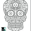 Sugar Skull Print Outs Best Coloring Pages Sugar Skull Coloring Page Printable Pages to Print