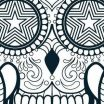 Sugar Skull Printable Inspired Phoenix Coloring Pages Free Luxury Skull Coloring Pages for Adults