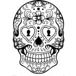 Sugar Skull Template Printable Elegant Skull Template Printable 60 Images In Collection Page 1