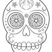 Sugar Skull Template Printable Excellent Coloring Page Day the Hard Free Printable Sugar Skulls
