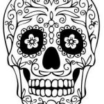 Sugar Skull Template Printable Inspirational 17 Best Skull Template Images In 2015