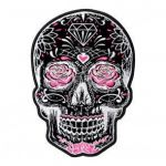 Sugar Skull top Hat Excellent Skull Patches