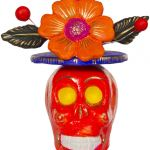 Sugar Skull top Hat Excellent top Hat Skull Candle Holder sourpuss Clothing
