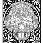 Sugar Skulls Coloring Book Amazing Pin by Valarie Ante On Color Me Sweary Coloring Pages