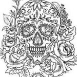Sugar Skulls Coloring Book Marvelous 254 Best Sugar Skulls Day Of the Dead Coloring Pages for Adults