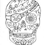 Sugar Skulls Coloring Book Pretty Coloring Page Day the Mandala Coloring Pages Copy Adult Skull