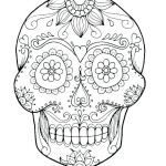 Sugar Skulls Coloring Pages Free Awesome Halloween Skeleton Coloring Pages – Metalripofffo