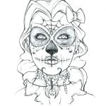 Sugar Skulls Coloring Pages Free Best Of Blank Sugar Skull Template Coloring Pages Page Download C Int