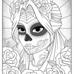 Sugar Skulls Coloring Pages Free Unique Best Cute Skeleton Coloring Pages – thebookisonthetable