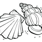 Sugar Skulls Coloring Pages Free Unique Shells Coloring Page – Meshanina Datingfo