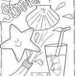 Sumer Coloring Pages Amazing Coloring Pages Summer Vacation Printable Sumer Coloring Pages In