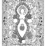 Sumer Coloring Pages Beautiful Coloring Pages for Adults Mabon Sabbat Goddess Art Coloring Page