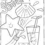 Summer Coloring Pages Free Printable Inspiring Free Summer Printable Coloring Pages – Mastersel