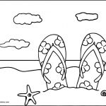 Summer Vacation Coloring Page Amazing Best Printable Summer Coloring Page 2019