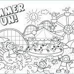 Summer Vacation Coloring Page Awesome Coloring Pages Summer Coloring Sheets Pages to Be Prepared for the