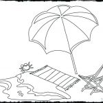 Summer Vacation Coloring Page Best Coloring Pages Summer Beach Umbrella Printable Fun for Adults