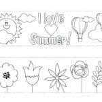 Summer Vacation Coloring Page Best Free Summer Coloring Pages – Club Osijek