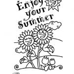 Summer Vacation Coloring Page Brilliant 243 Summer Coloring Pages for Kids