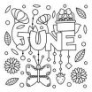 Summer Vacation Coloring Page Brilliant 279 Best Summer Coloring Pages Images In 2019