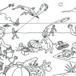 Summer Vacation Coloring Page Inspired Coloring Pages Summer Coloring Sheets Pages to Be Prepared for the