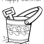 Summer Vacation Coloring Page Inspiring Happy Summer Coloring Pages Printable for Preschoolers