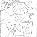 Summer Vacation Coloring Page Wonderful Summer Coloring Pages for Kids Enjoy Your Summer Coloring Page with