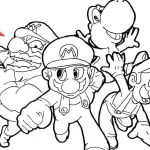 Super Mario Coloring Book Best Mario Coloring Pages Online – Healthwarehouse