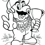 Super Mario Coloring Book Marvelous Colouring Pages Mario – Running Down