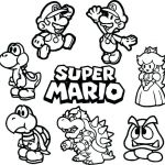 Super Mario Coloring Page Awesome Mario Bros Coloring Pages – Kathrynkayefo