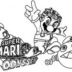 Super Mario Coloring Page Awesome Mario Odyssey Coloring Pages at Getcolorings
