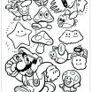 Super Mario Coloring Page Beautiful Colouring Pages Mario – Running Down