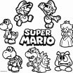 Super Mario Coloring Page Excellent New Mario and Luigi Coloring Page 2019