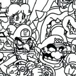 Super Mario Coloring Page Marvelous Coloring Pages Mario Coloring Book Pages Line O D Colouring Line