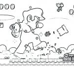 Super Mario Coloring Page Wonderful Coloring Pages Luigi Coloring Pages Line and O D Colouring Super