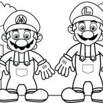 Super Mario Coloring Pages Creative Super Mario Coloring Sheets Printable Coloring Pages for Boys Lovely