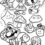 Super Mario Coloring Pages Excellent Mario Odyssey Coloring Pages Inspirational Mario Coloring Pages Line