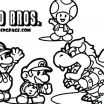 Super Mario Coloring Pages Inspired Mario and Luigi Printable Coloring Pages – Dstic